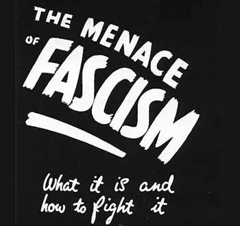 The Menace of Fascism