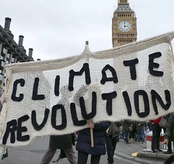 For Revolutionary Change, Not Climate Change