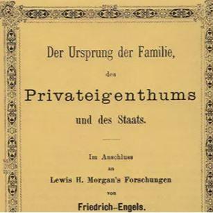 Familien, Privatejendommen og Statens Oprindelse